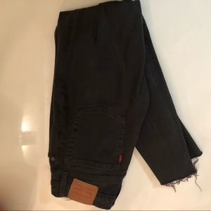 Brand new high waisted black Levi's Jeans size 26